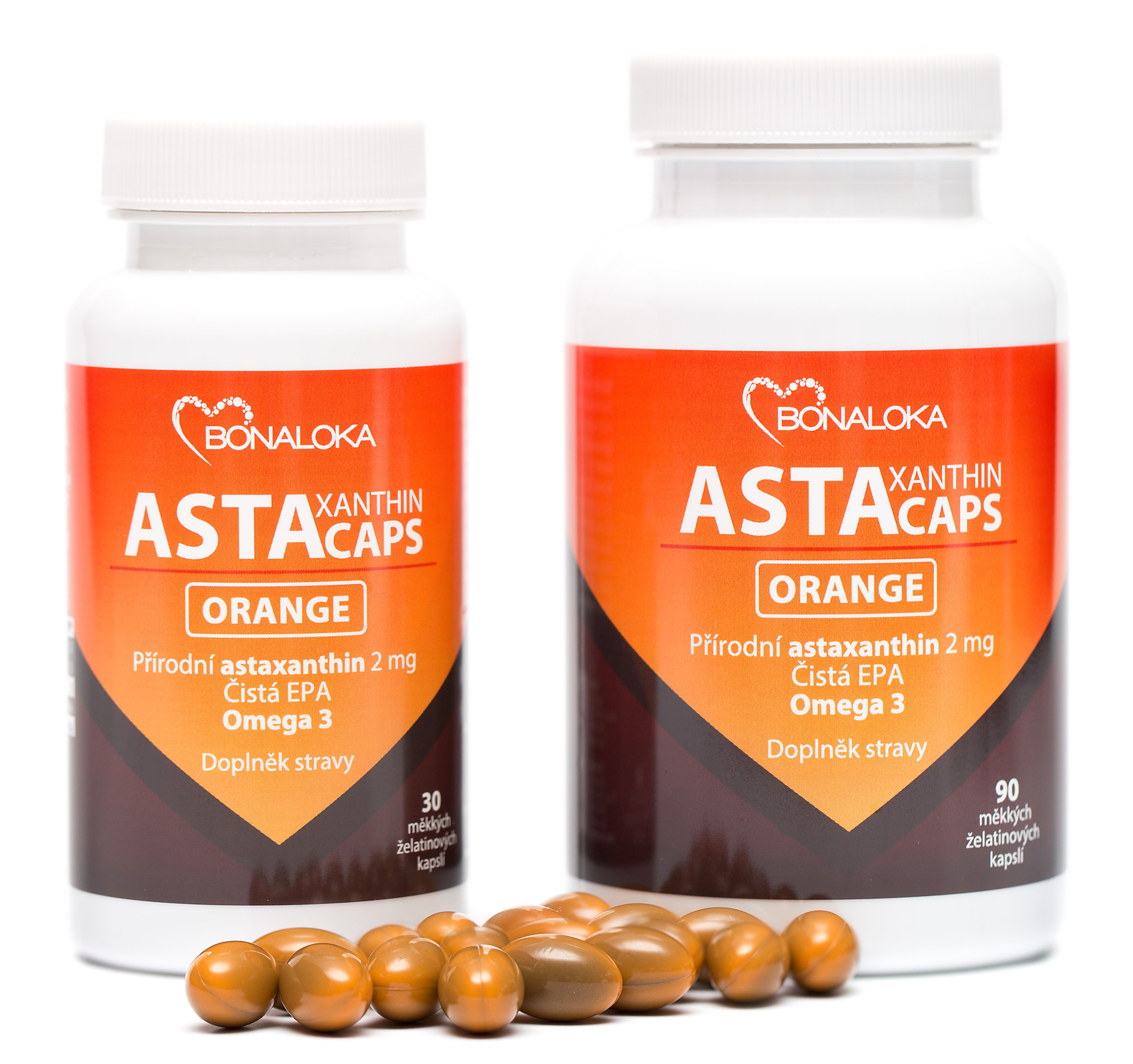 Bonaloka - Astaxanthin Caps ORANGE